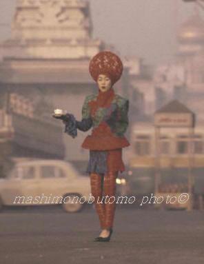 眞下伸友の作品 日東紅茶 インドにて スチール撮影