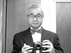 眞下伸友の作品 自画像 スチール撮影